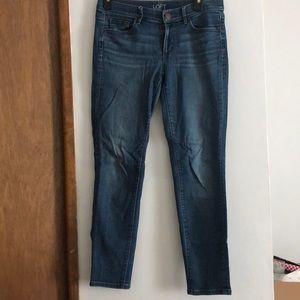 LOFT dark washed jean